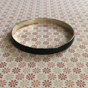 🌸3for$15 Black and Silver Bangle